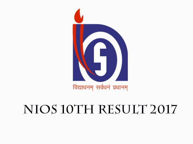 NIOS 10th Result 2017