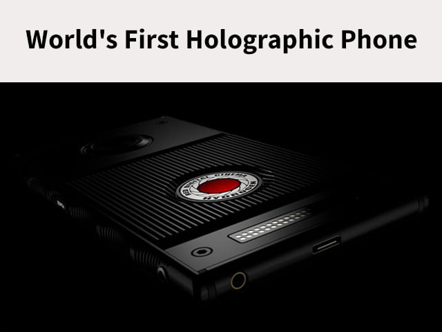 World's First Holographic Phone