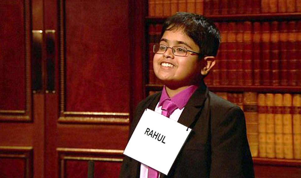 12-year old Indian Origin Boy won Child Genius Competition at UK