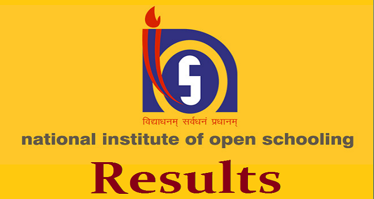 NIOS Board 10th Result 2017