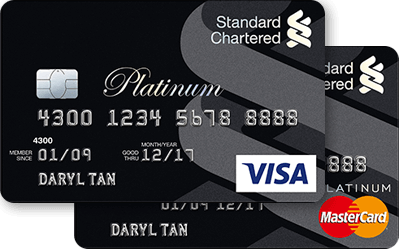 Standard Chartered Platinum Rewards Card