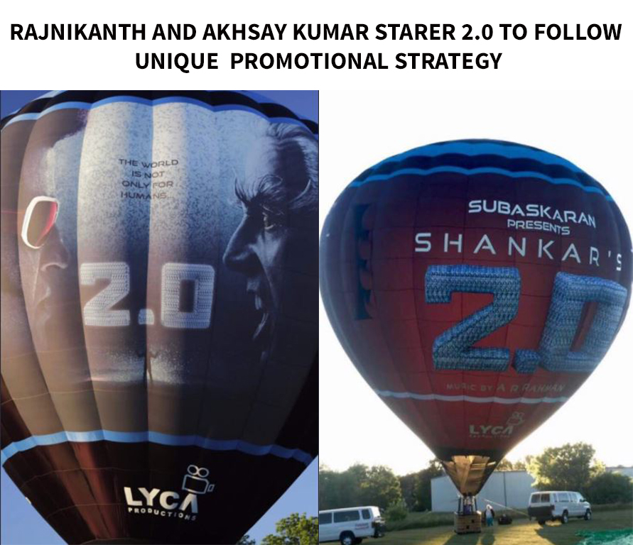 Rajnikanth and Akshay Kumar Starter 2.0 to follow Unique Promotional Strategy