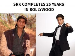 SRK Completes 25 years in Bollywood