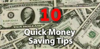10 Money Saving Tips