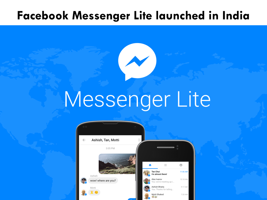 Facebook Messenger Lite launched in India