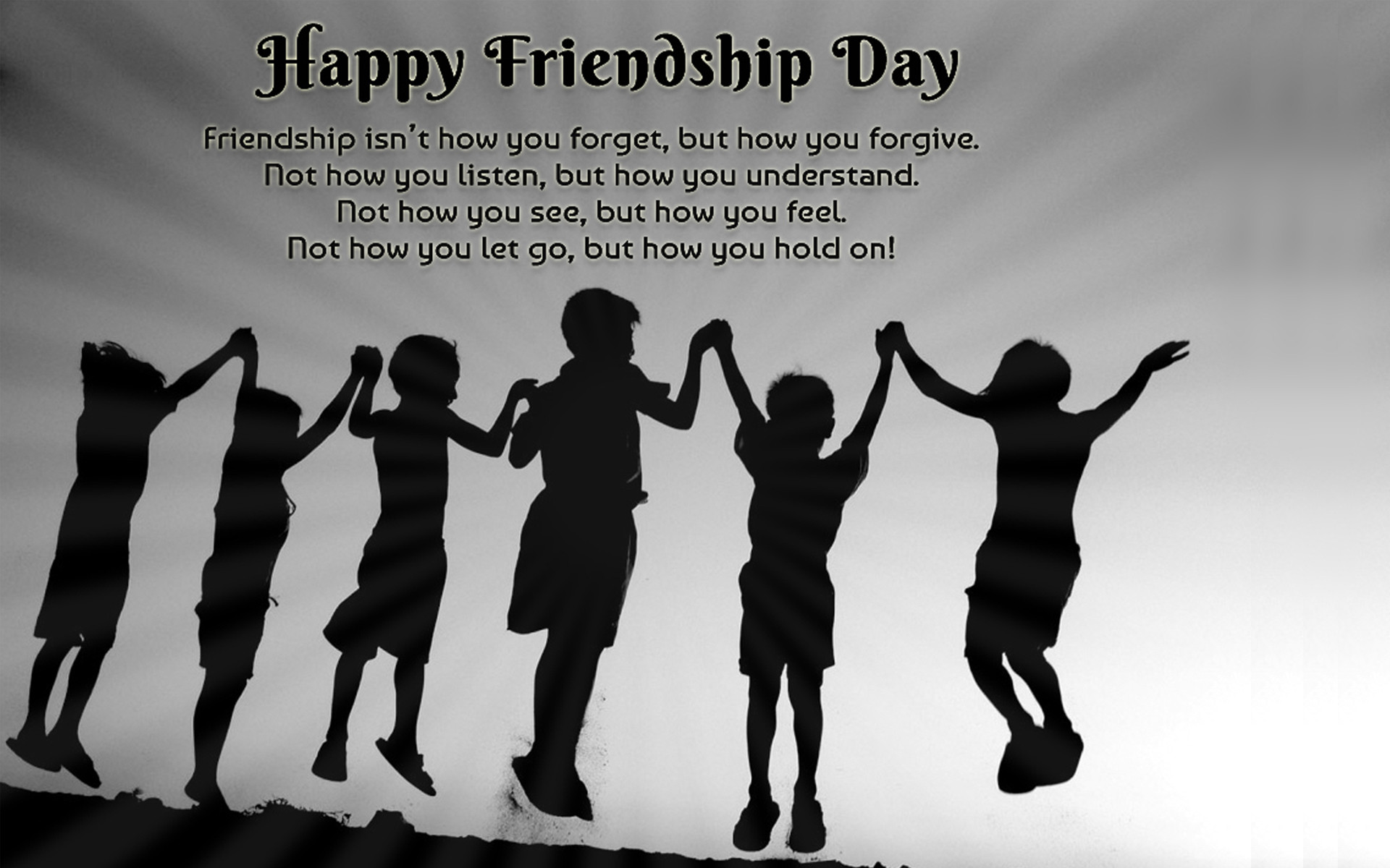 Happy Friendship Day 2017 HD Photo