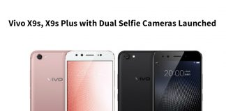 Vivo X9s, X9s Plus with Dual Selfie Cameras Launched