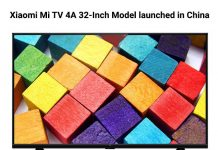 Xiaomi Mi TV 4A 32-Inch Model launched in China