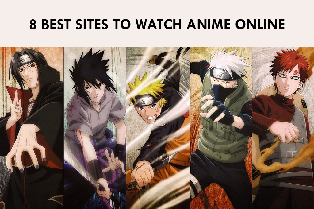 8 Best Sites to Watch Anime Online