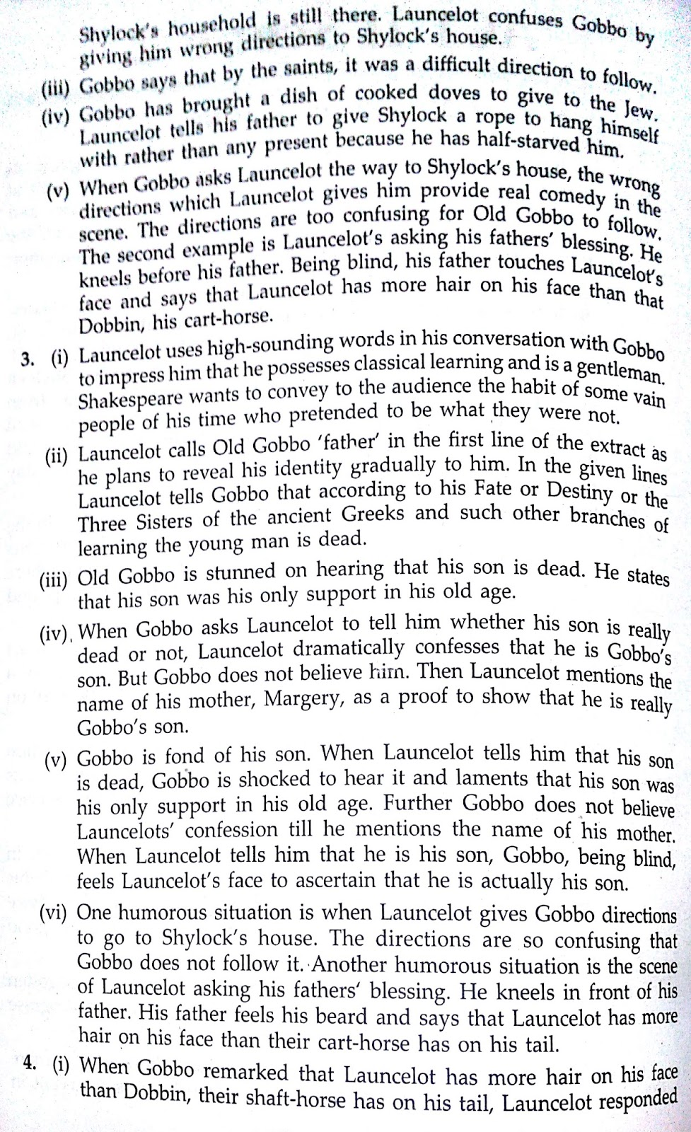 important extracts from merchant of venice