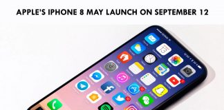 Apple's iPhone 8 may launch on September 12