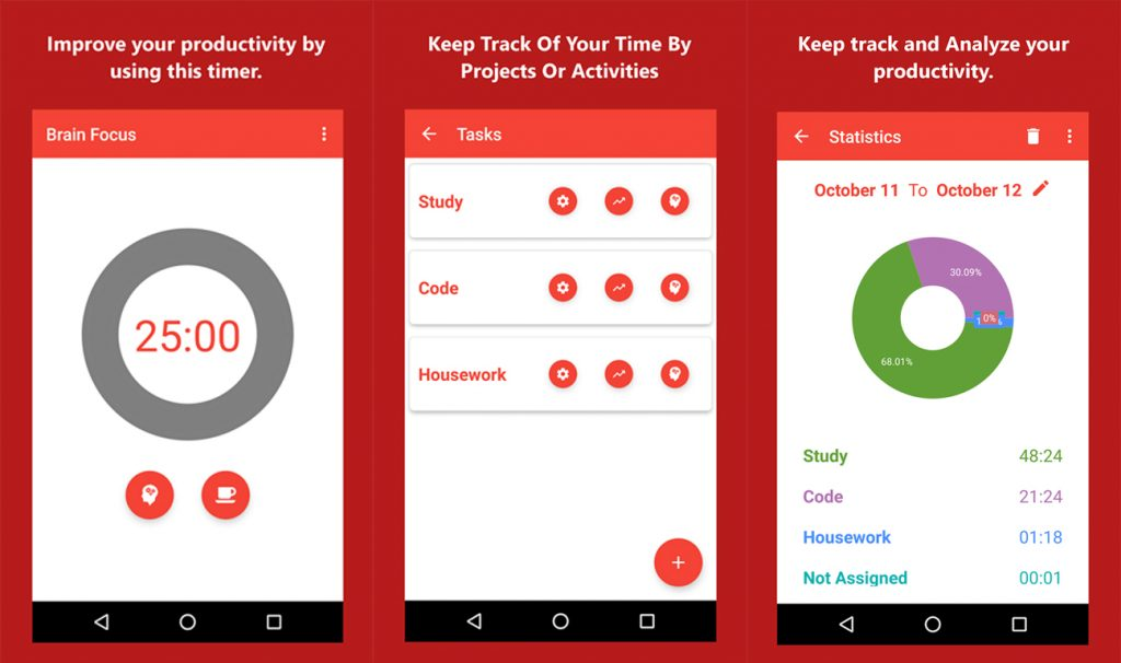 Best Time Management Apps for Android 2017