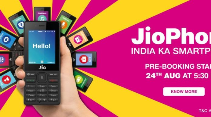 JioPhone Bookings starts Today: How to Pre-Order Phone