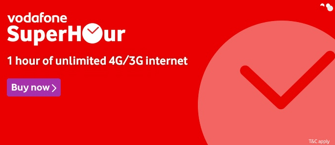 Vodafone Rs 7 SuperHour plan, Unlimited calls and Data