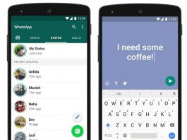 WhatsApp starts rolling out colorful status update feature